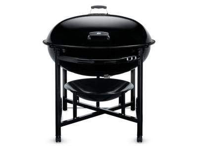 """38"""" Weber Ranch Series Charcoal Grill In Black - Ranch Kettle"""