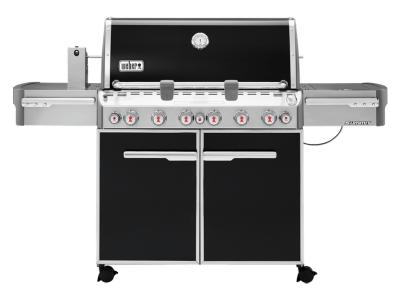 """74"""" Weber Summit Series 6 Burner Liquid Propane Grill With Built-In Thermometer - Summit E-670 LP"""