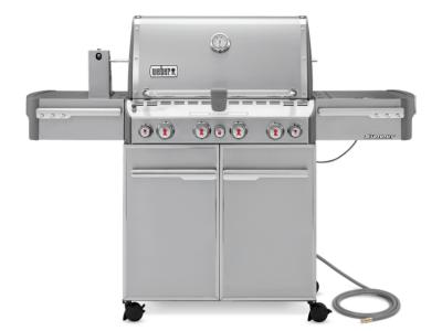 """66"""" Weber Summit Series 4 Burner Natural Gas Grill With Side Burner - Summit S-470 NG"""