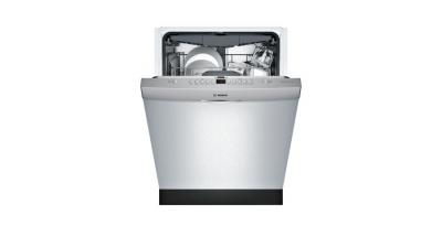 """24"""" Bosch 300 Series Fully Integrated Dishwasher Stainless steel-SHS863WD5N"""