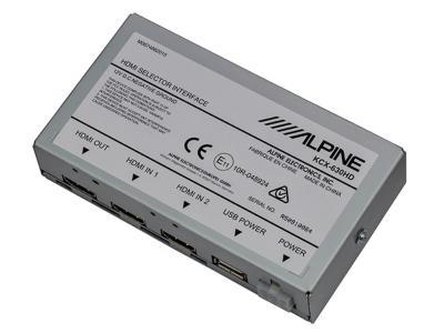 Alpine HDMI Switcher Interface - KCX-630HD