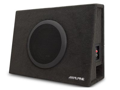 "Alpine Truck Enclosure with 10"" SWT Subwoofer - SBT-S10V"