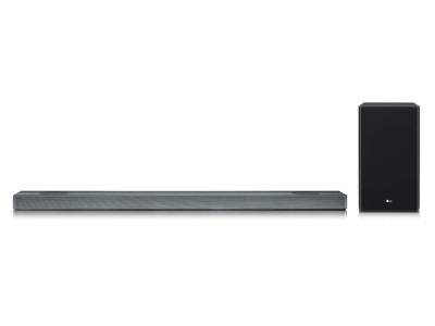 LG 4.1.2 Channel Sound Bar With Meridian Technology And Dolby Atmos - SL9YG
