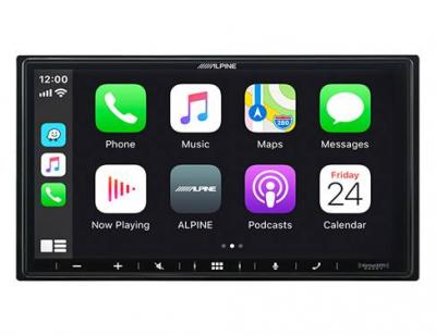 """7"""" Alpine Shallow-Chassis Multimedia Receiver with PowerStack - iLX-W650"""