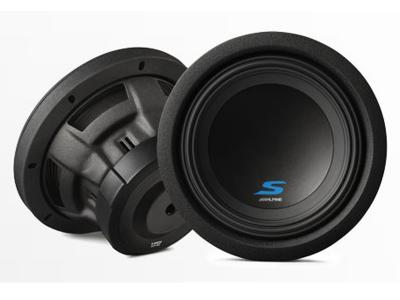 Alpine 8 Dual Voice Coil (2 Ohm) High Performance Subwoofers - S-W8D2