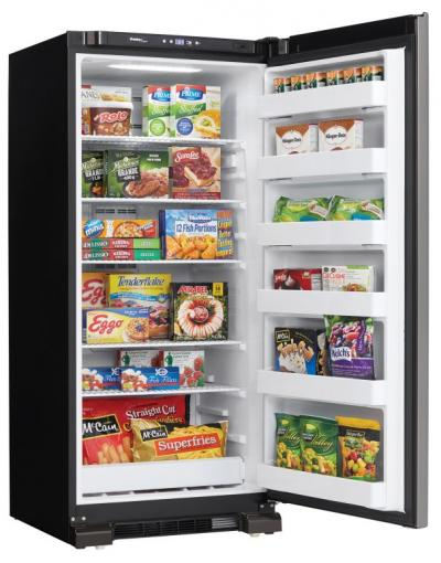 """30"""" Danby  16.7 cu ft. Upright Freezer in Stainless Steel - DUF167A4BSLDD"""