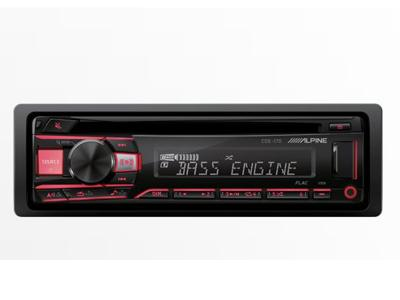 Alpine Advanced MP3/WMA/CD Receiver - CDE-170