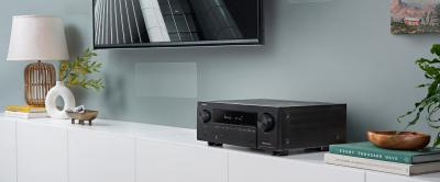 Denon 9.2 Channel  8K AV Receiver With 3D Audio, Voice Control And HEOS Built-in - AVRX3700H