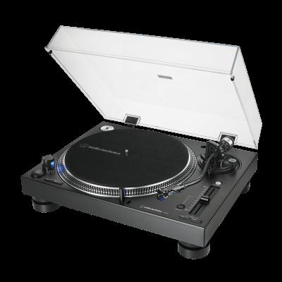 Audio Technica Direct-Drive Professional DJ Turntable in Black - AT-LP140XP-BK