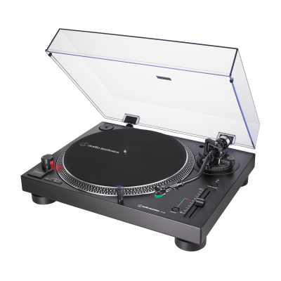 Audio Technica Direct-Drive Turntable (Analog & USB) in Black - AT-LP120XUSB-BK