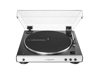 Audio Technica Fully Automatic Wireless Belt-Drive Turntable - AT-LP60XBT-WH