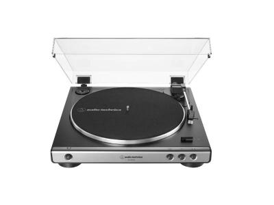 Audio Technica Fully Automatic Belt-Drive Turntable in GunMetal - AT-LP60XUSB-GM