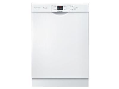 "24"" Bosch Ascenta Dishwasher In White - SHEM3AY52N"