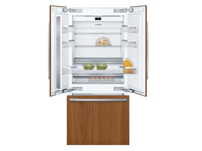 "36"" Bosch Benchmark Series Built-in Bottom Freezer Refrigerator In Panel Ready - B36IT905NP"