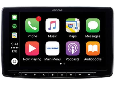 """9"""" Alpine Halo 9 Plug and Play Dash System for Toyota 4Runner - iLX-F309FRN"""