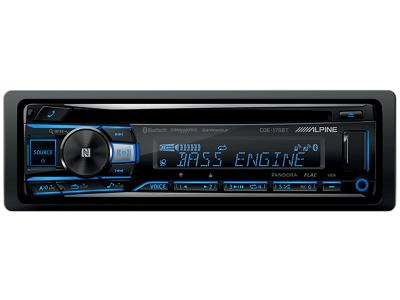 Alpine CD/USB Receiver With Advanced Bluetooth - CDE-175BT