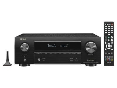 Denon 7.2ch 4K Ultra HD AV Receiver with 3D Audio and HEOS - AVRX1600H