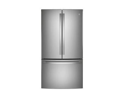 "36"" GE Profile 23.1 Cu. Ft. Counter-Depth  French-Door Refrigerator - PWE23KYNFS"