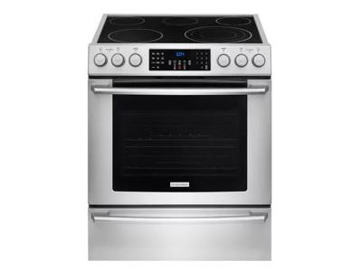 """30"""" Electrolux Electric Front Control Freestanding EI30EF4CQS"""