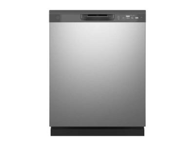 """24"""" GE Built-In Front Control Dishwasher In Stainless Steel - GDF510PSRSS"""