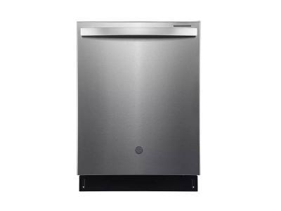 "24"" GE Profile Built-In Top Control Dishwasher in Fingerprint Resistant Stainless Steel - PBT865SSPFS"