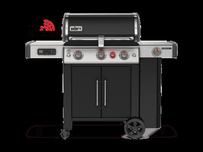 """59"""" Weber Genesis II EX-335 Smart Grill with Liquid Propane in Black  -  61016601"""