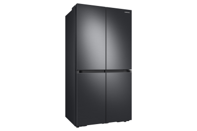 """36"""" Samsung 22.9 Cu. Ft. Counter-Depth French Door Refrigerator With AutoFill Water Pitcher In Black Stainless Steel - RF23A9071SG"""