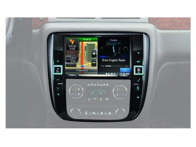 Alpine Restyle Dash System for Select GM Trucks-X009-GM