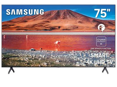 "75"" Samsung UN75TU7000FXZC Smart 4K UHD TV"