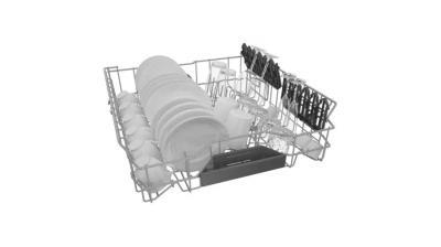 "24"" Bosch Dishwasher 44 dB Decibel Level, 6 Wash Cycles, 3 Loading Racks - SGV78B53UC"