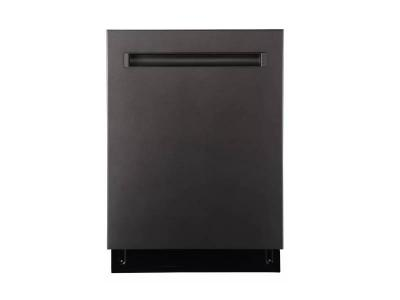 "24"" GE Smart Dishwasher with Top Control Stainless Steel Tub in Slate - GBP655SMPES"
