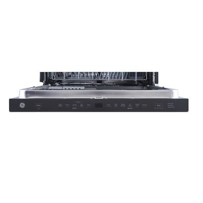 """24"""" GE Smart Dishwasher with Top Control Stainless Steel Tub in Slate - GBP655SMPES"""