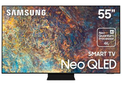"55"" Samsung QN55QN90AAFXZC Neo 4K Smart QLED TV"