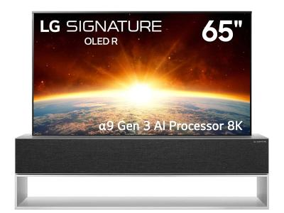 "65"" LG 65RX RX Signature Series Rollable OLED TV"
