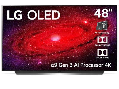 "48"" LG 48CX C Series OLED 4K TV"