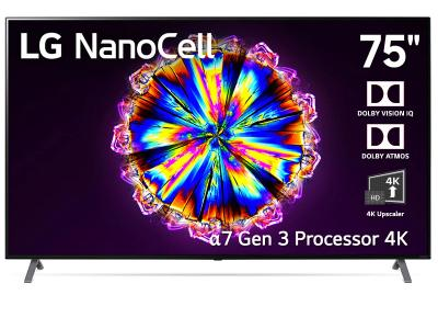 "75"" LG 75NANO90UNA Nano90 Series NanoCell 4KTV"