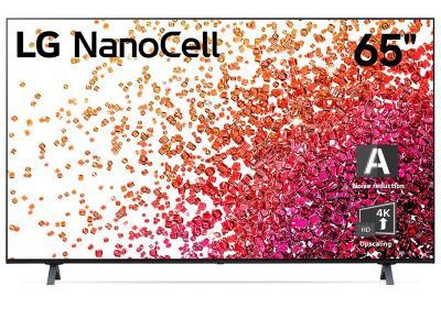 "65"" LG 65NANO75UPA NanoCell 75 Series Class 4K Smart UHD TV"