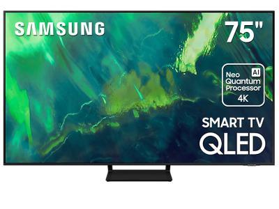 """75"""" Samsung QN75Q70AAFXZC QLED 4K Smart TV"""