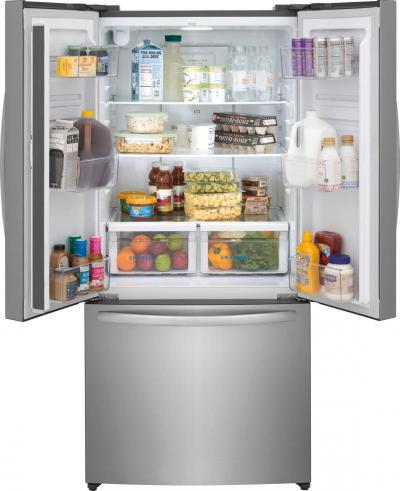 """31"""" Frigidaire 17.6 Cu. Ft. Counter-Depth French Door Refrigerator - FRFG1723AV"""