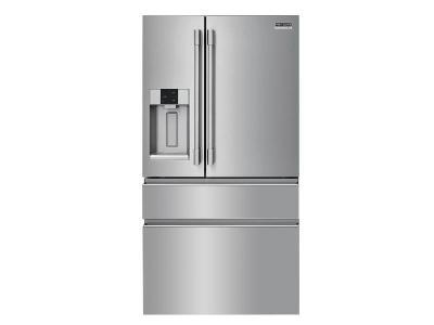 """36"""" Frigidaire Professional 21.8 Cu. Ft. Counter-Depth 4-Door French Door Refrigerator - PRMC2285AF"""