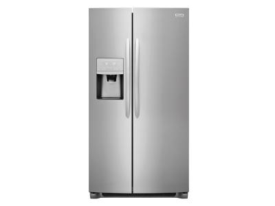 """36"""" Frigidaire Gallery 22.2 Cu. Ft. Counter-Depth Side-by-Side Refrigerator - FGSC2335TF"""
