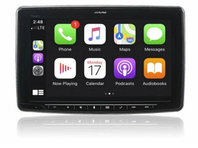 Alpine Audio Video Receiver - ILX-F411
