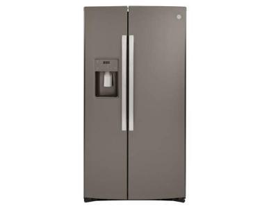 "36"" GE 25.1 Cu. Ft. Side-By-Side Refrigerator - GSS25IMNES"