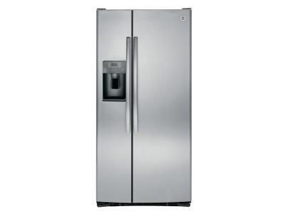 "33"" GE 23.2 Cu. Ft. Side-By-Side Refrigerator - GSS23GSKSS"