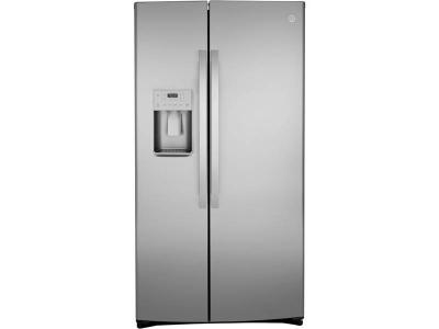 GE 21.8 Cu. Ft. Counter Depth Side-By-Side Refrigerator -  GZS22IYNFS