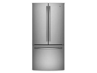 "33"" GE 24.8 Cu. Ft. French Door Refrigerator - GNE25DSKSS"