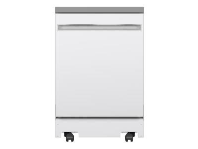 "24"" GE Portable Dishwasher  With Fully Integrated Controls and ENERGY STAR Qualified - GPT225SGLWW"