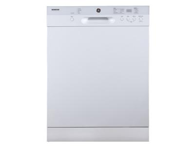 """24"""" GE Built-In Dishwasher with Stainless Steel Tub  - GBF532SGMWW"""