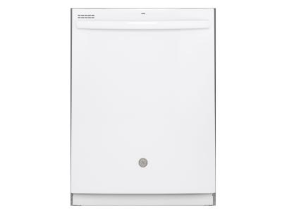 "24"" GE Built-In Tall Tub Dishwasher with Hidden Controls - GDT605PGMWW"