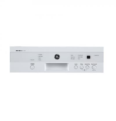 """18"""" GE  Electronic Front Controls Appearance With Stainless Steel Tub - GBF180SGMWW"""